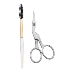 Tweezerman Stainless Brow Shaping Scissors 3.5in