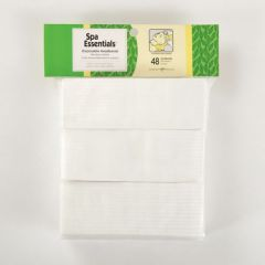 Spa Essentials Disposable Headband 48ct White