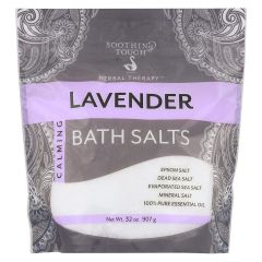 Soothing Touch Lavender Bath Salts 32 oz