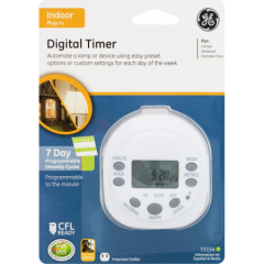 Saltibility - 7 Day Digital Timer by GE