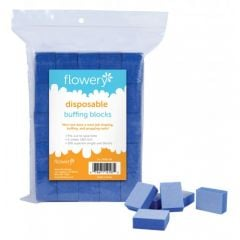 Flowery Disposable Buffing Blocks, 100 ct