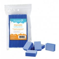 Flowery Disposable Buffing Blocks, 24 ct