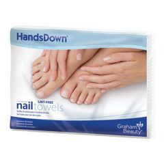 "HandsDown Poly-Backed Towel White 12""x16""; 50 Count"