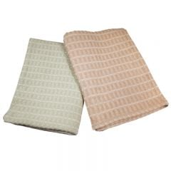 Harmony 100% Cotton Spa Blanket - Tan