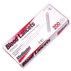 Lancets By Medipoint - 200 Pk.