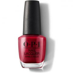 OPI Lacquer .5oz, OPI Red