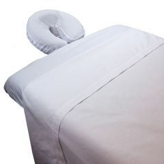 Simplicity™ Poly/Cotton Massage Table Sheet Sets