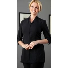 Pravia Jacket 3/4 Sleeve Uniform - Solid Black