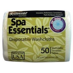 "SoftCloth Disposable Wipe White 12"" x 13.5"" 40 Count"