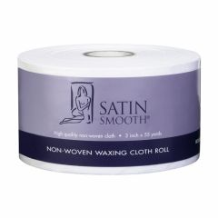 Satin Smooth Nonwoven Wax Strips  55 yds