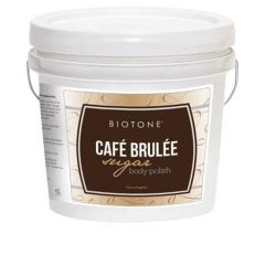 Biotone Cafe Brulee Sugar Body Polish 1 Gallon