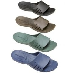 Unisex Cloud 9 Spa Slipper - Black