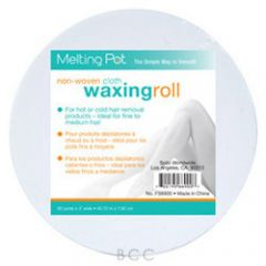 Melting Pot Non Woven Cloth Waxing Roll 50 yards x 3""