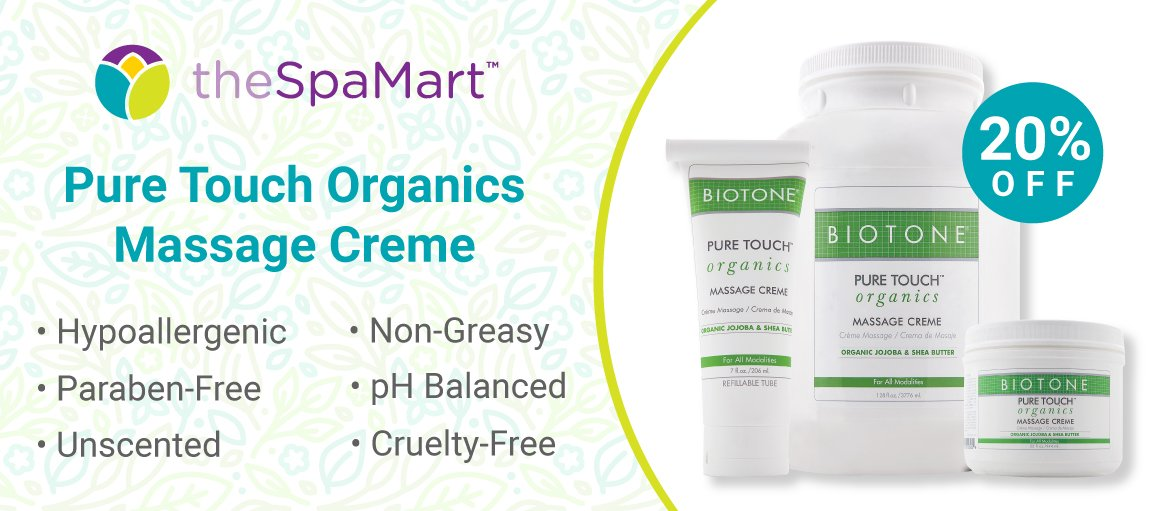 Get up to 20% off—Biotone Pure Touch Massage Cream